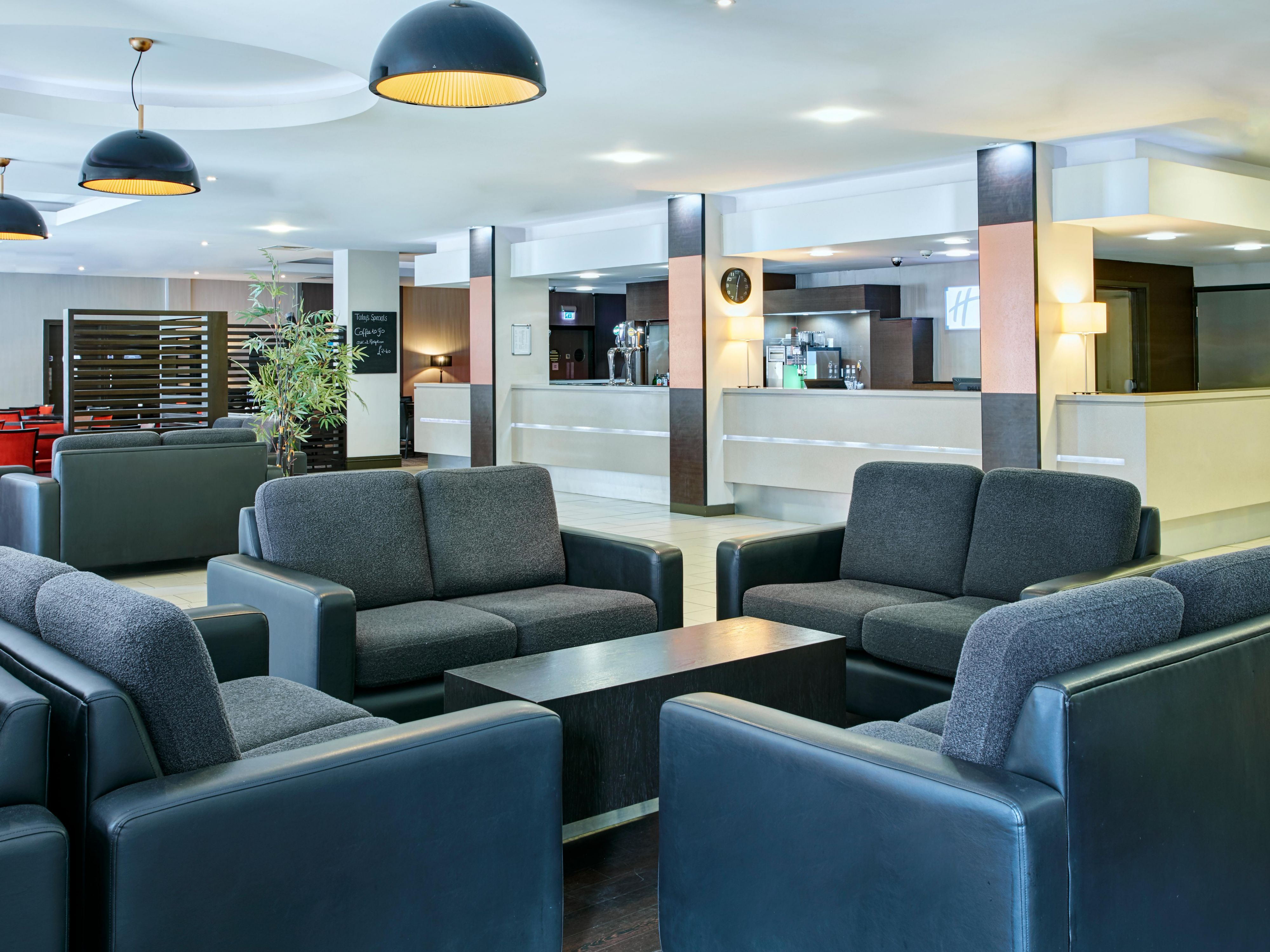 Hotel lobby at Holiday Inn Express Belfast City Centre