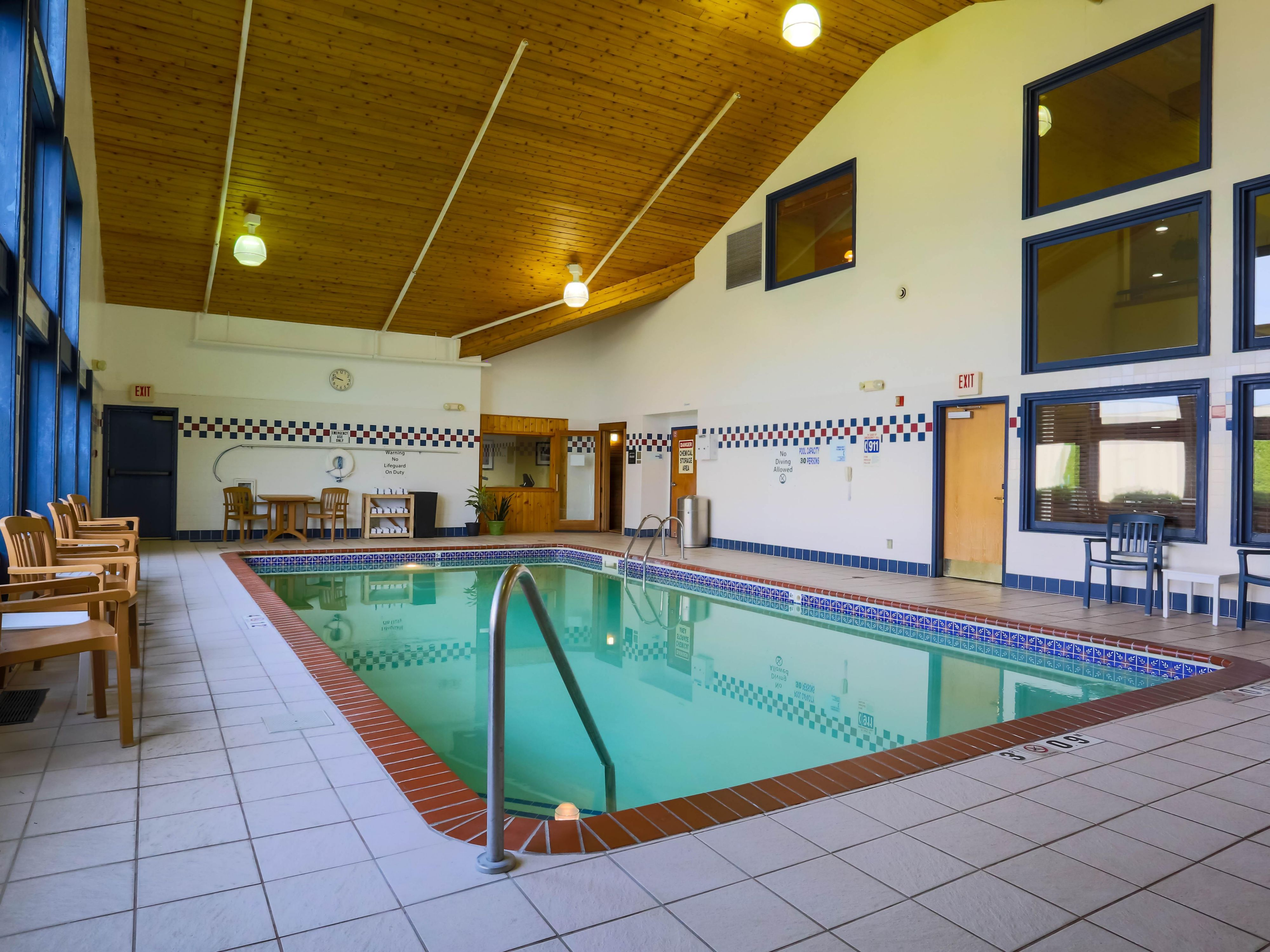 Indoor Pool, Hot Tub and Sauna