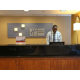A warm welcome greeting at the Front Desk