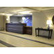 Our spacious lobby at the Holiday Inn Express Biddeford