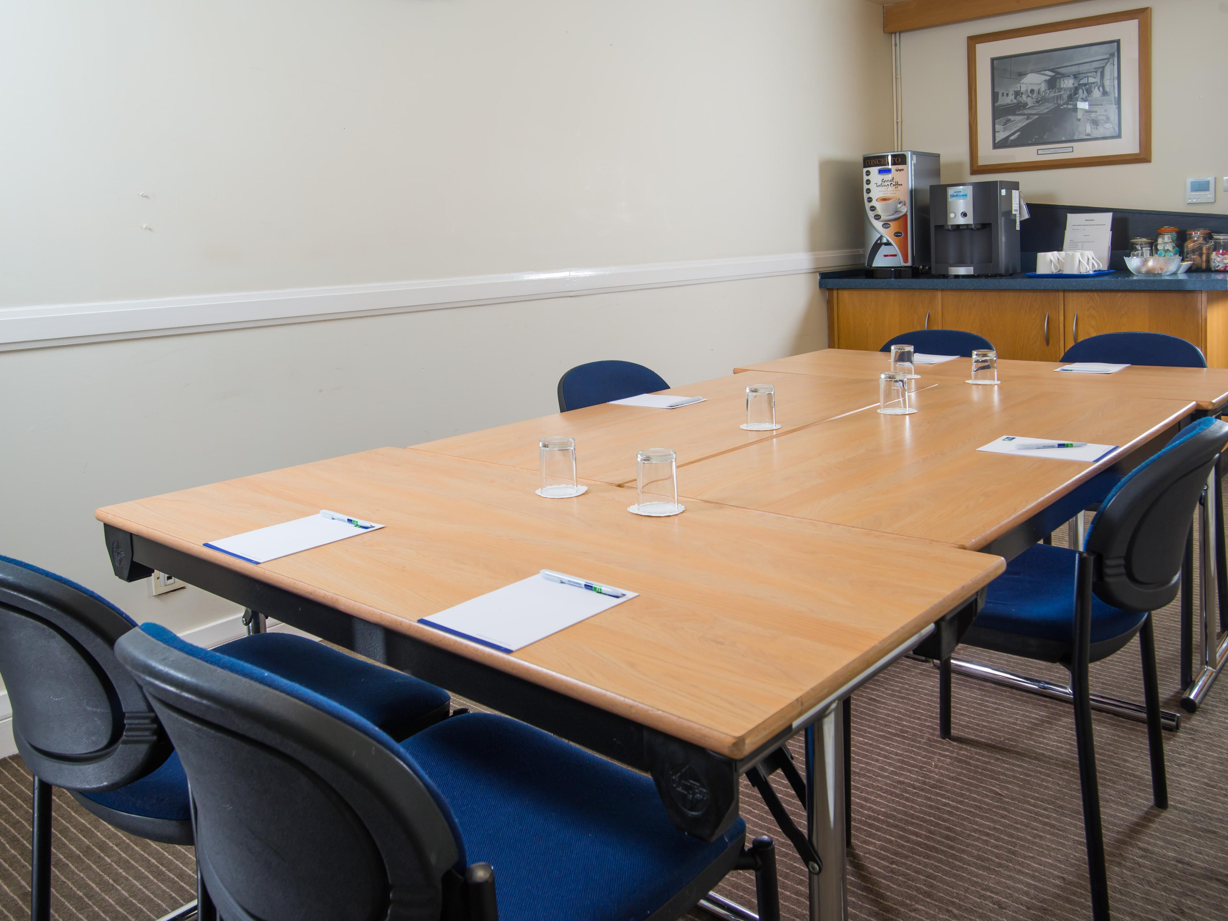 Channel your inner Alan Sugar in one of our boardrooms