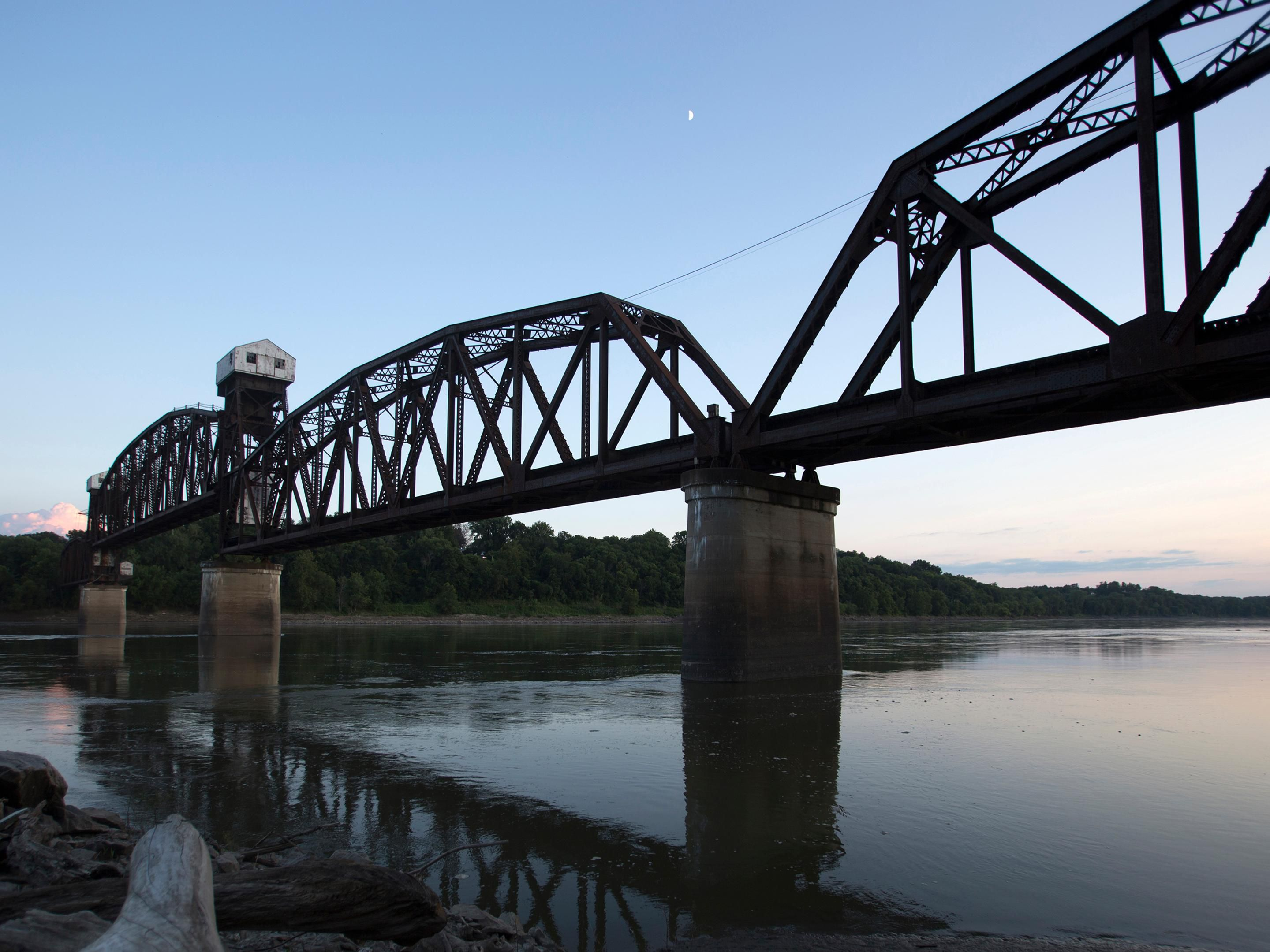 Area Attraction: Katy Trail Bridge
