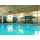 Indoor salt-filtrated heated swimming pool