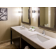 Holiday Inn Express Burnaby Metrotown Suite Bathroom