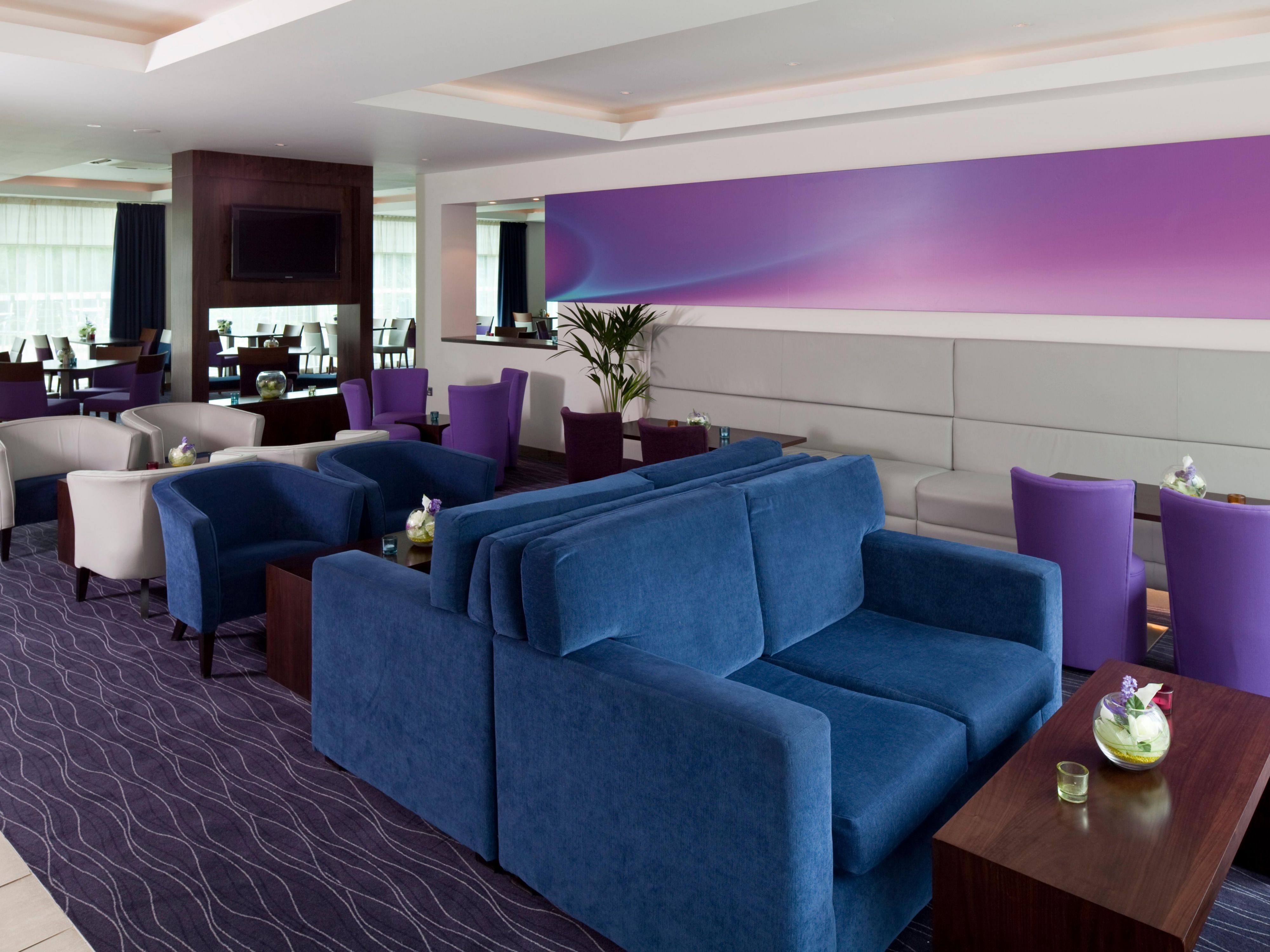 Relax in our comfortable bar and lounge