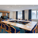 Modern fully equipped meeting room with daylight lighting
