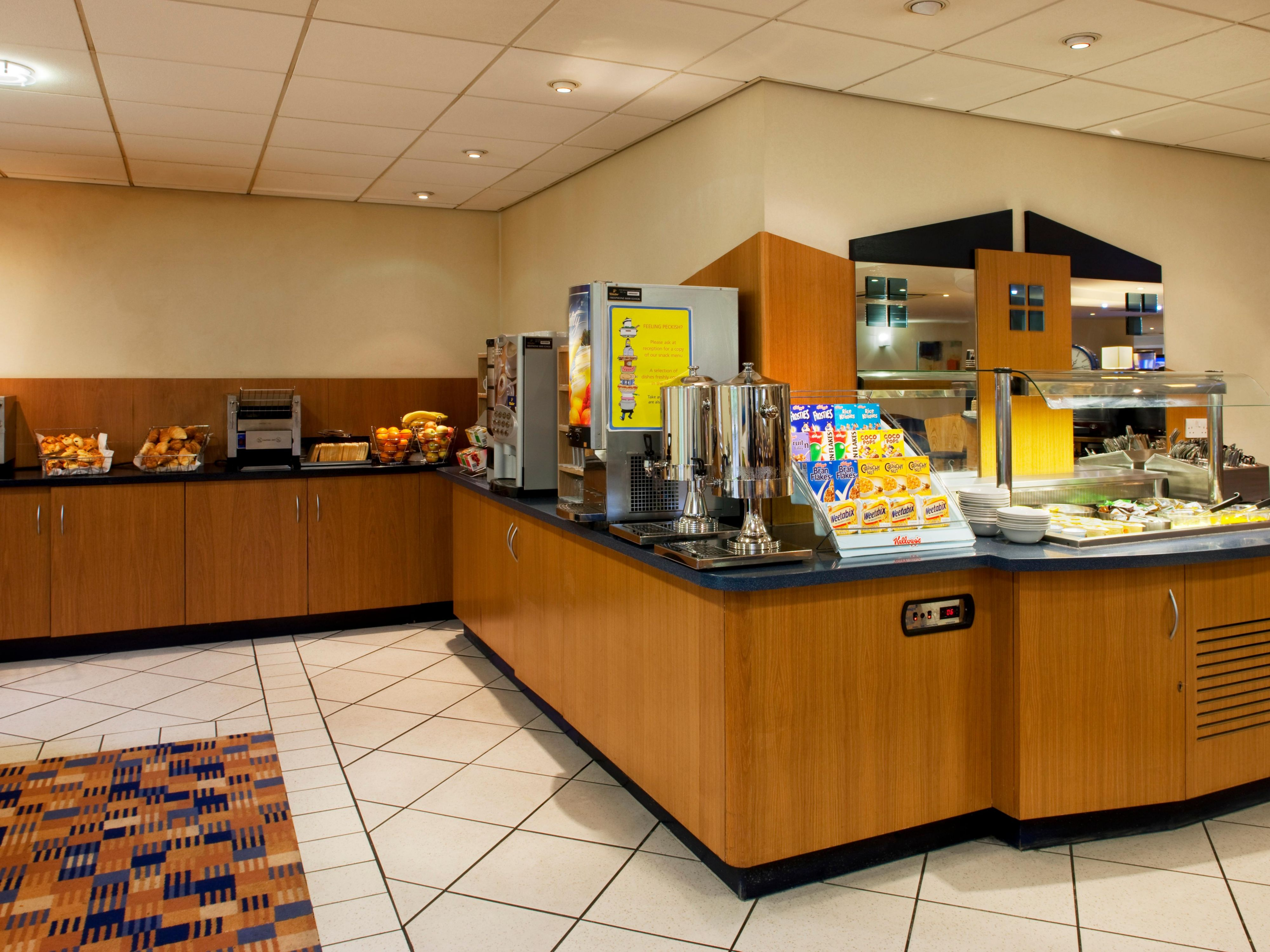 Breakfast Buffet with selection of hot & cold items