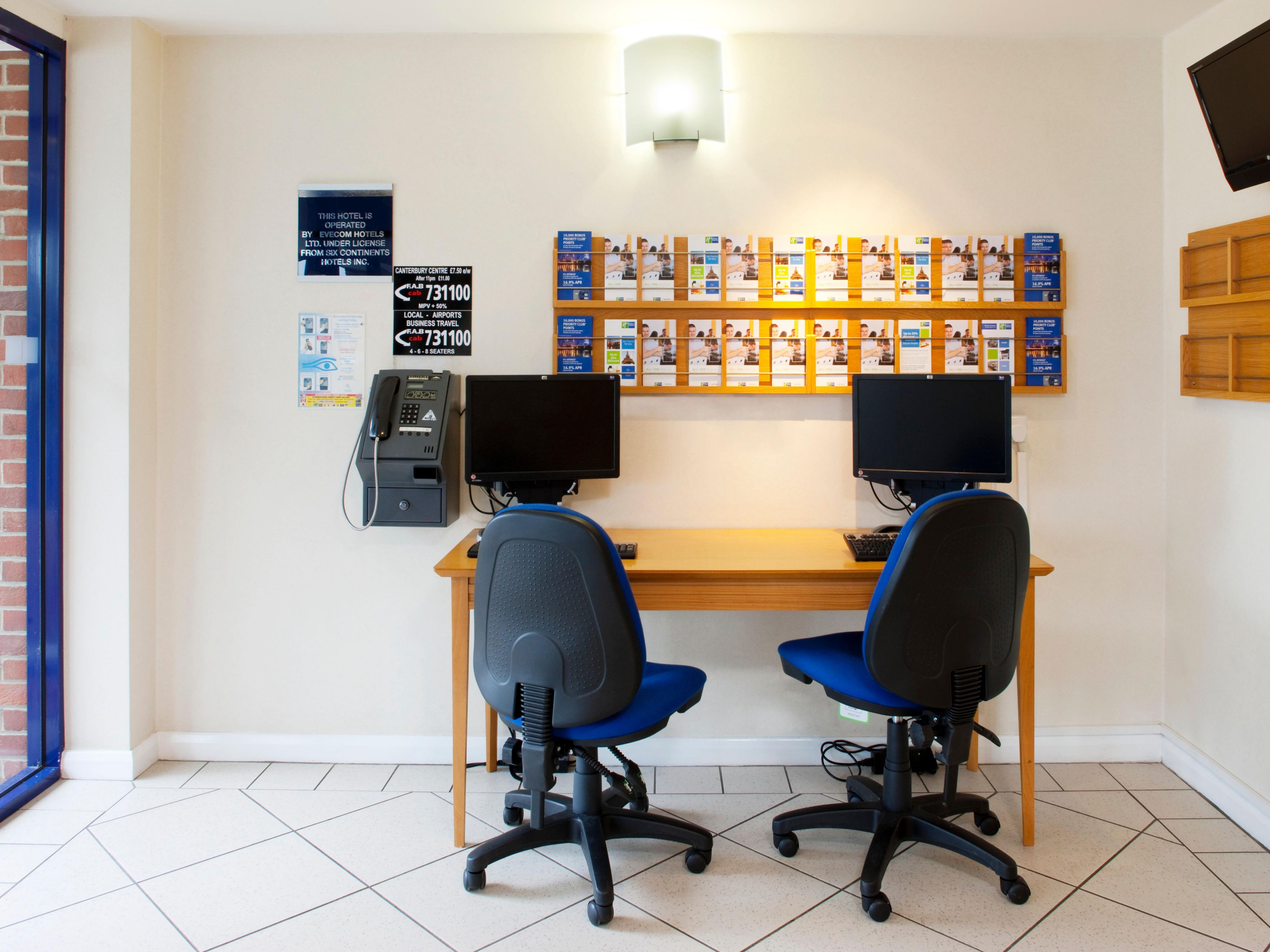 Small Business Centre providing free internet access