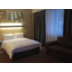 Double Bed with Sleeper Couch