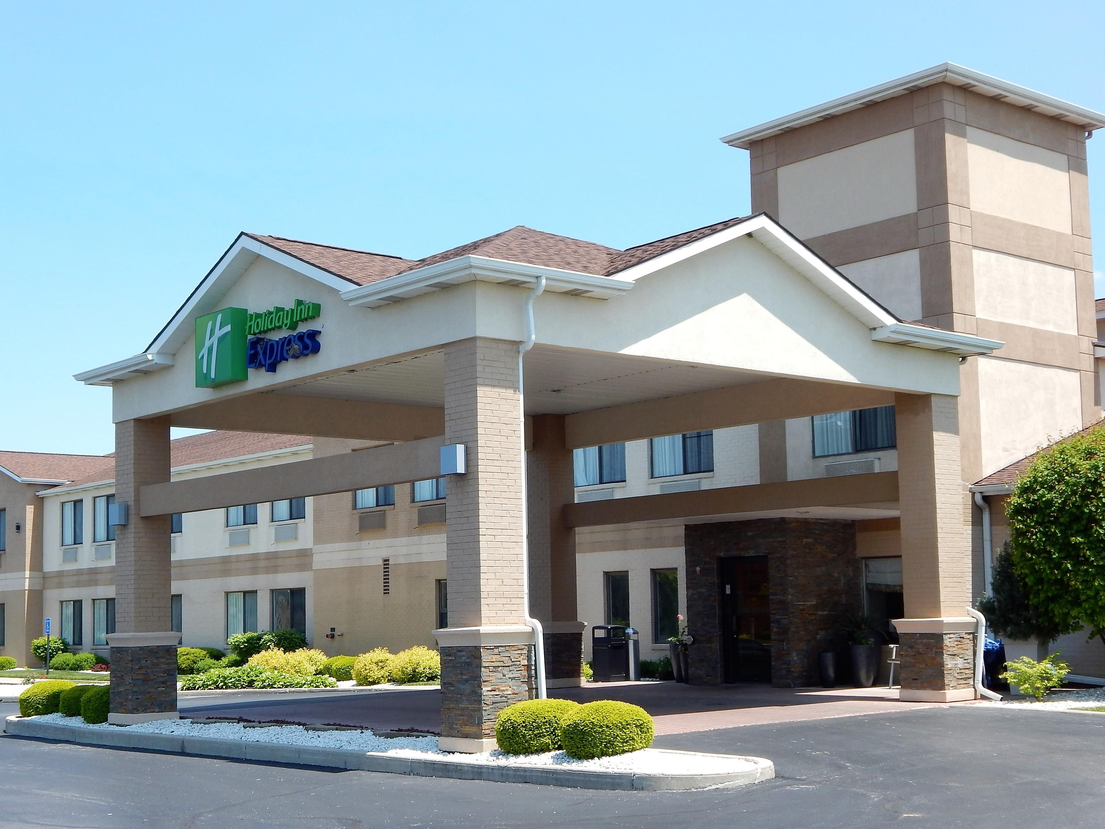 Welcome to the Holiday Inn Express-Celina