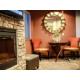 Hotel Lobby Fireplace