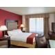 Single Queen Bed Guest Room