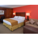 Enjoy a King room with pull-out sofa bed.