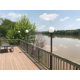 Hotel Deck Along the Dan River