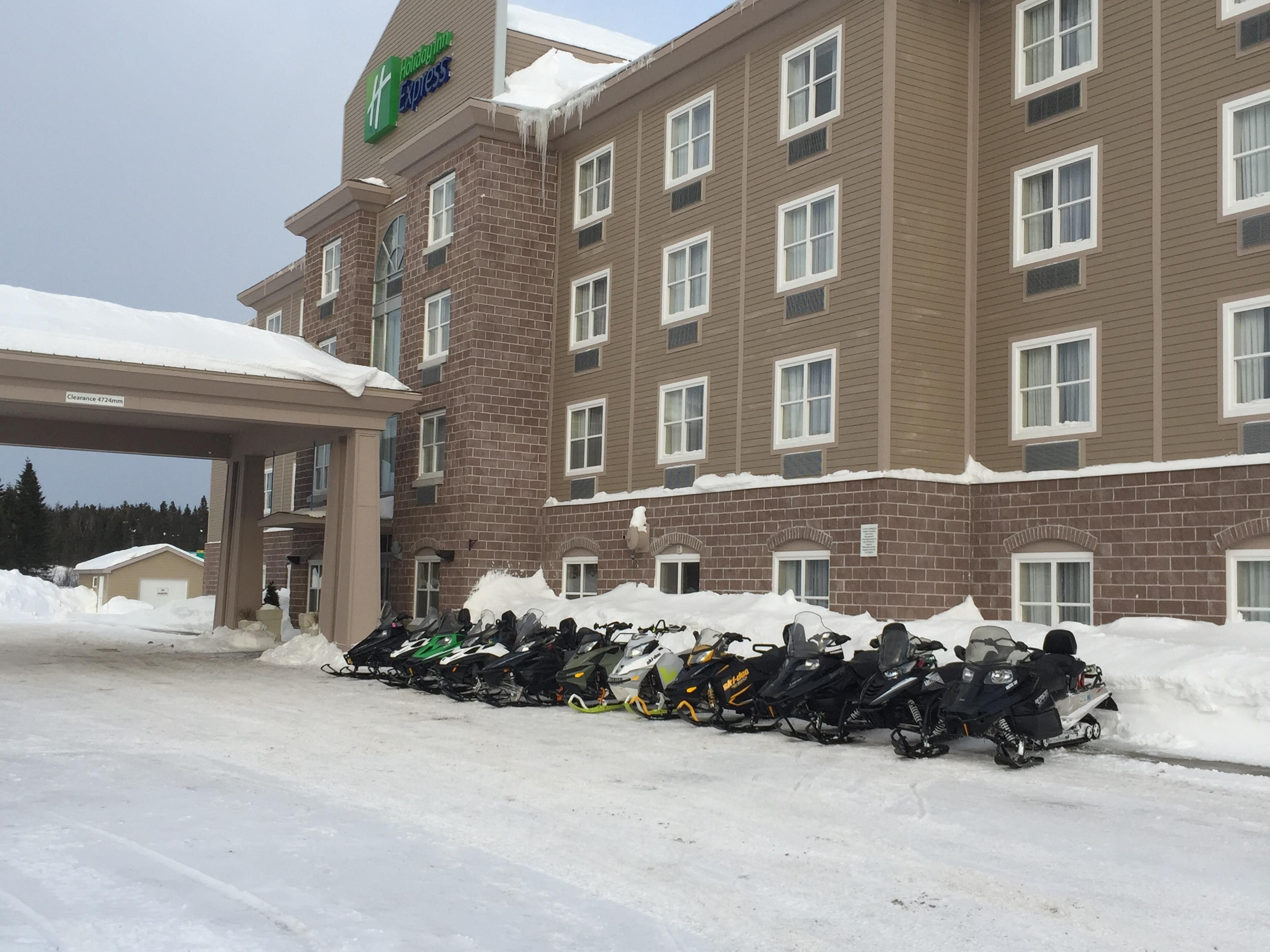 Holiday Inn Express Deer Lake, the Snowmobile Hub of Newfoundland!