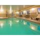 Swimming Pool at the Holiday Inn Express Devils Lake