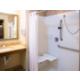 Wheelchair accessible shower/bathroom