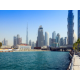 Enjoy the view of the Dubai Water Canal from the hotel