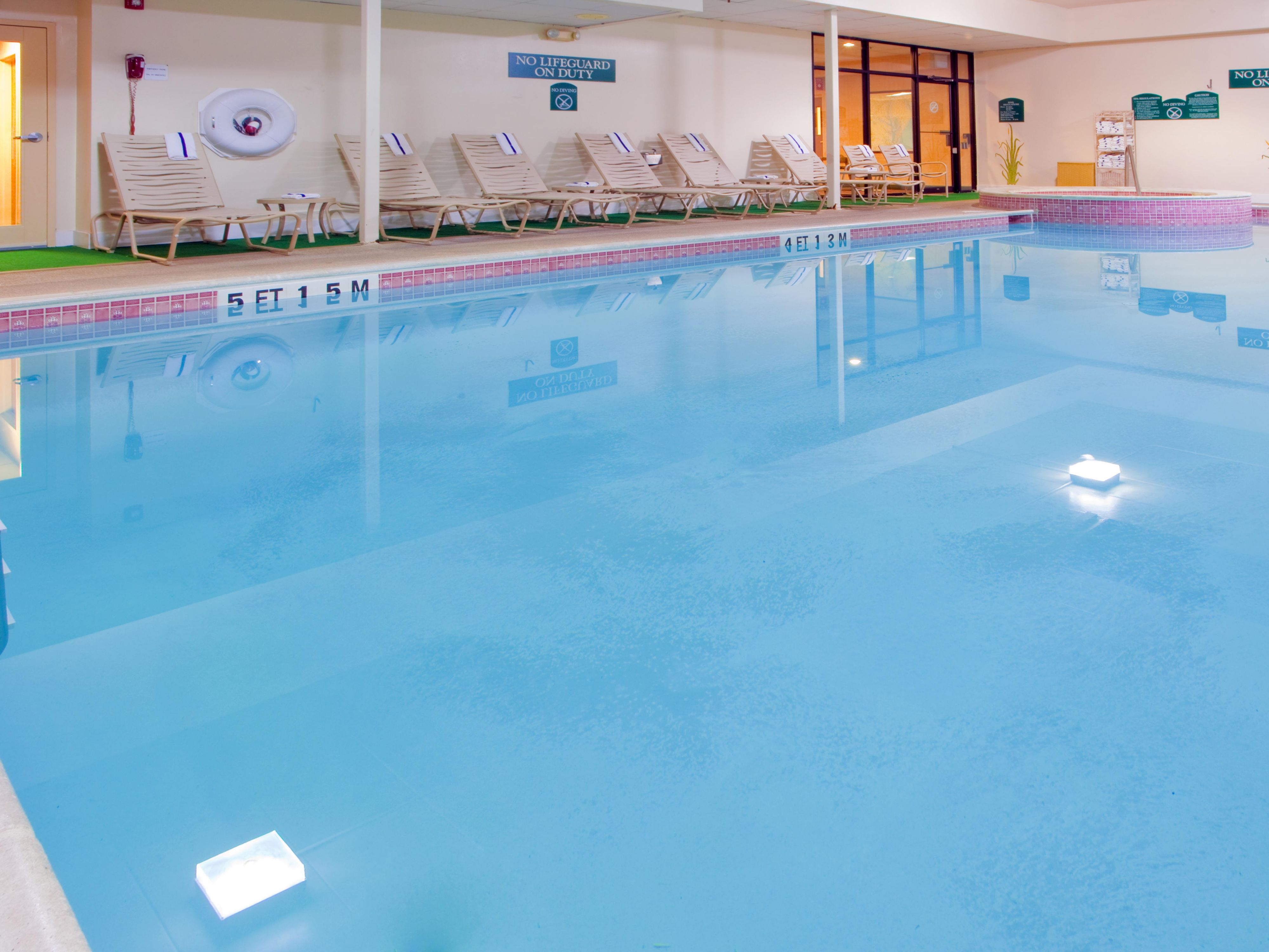 Enjoy Our Indoor Pool - Holiday Inn Express Easton