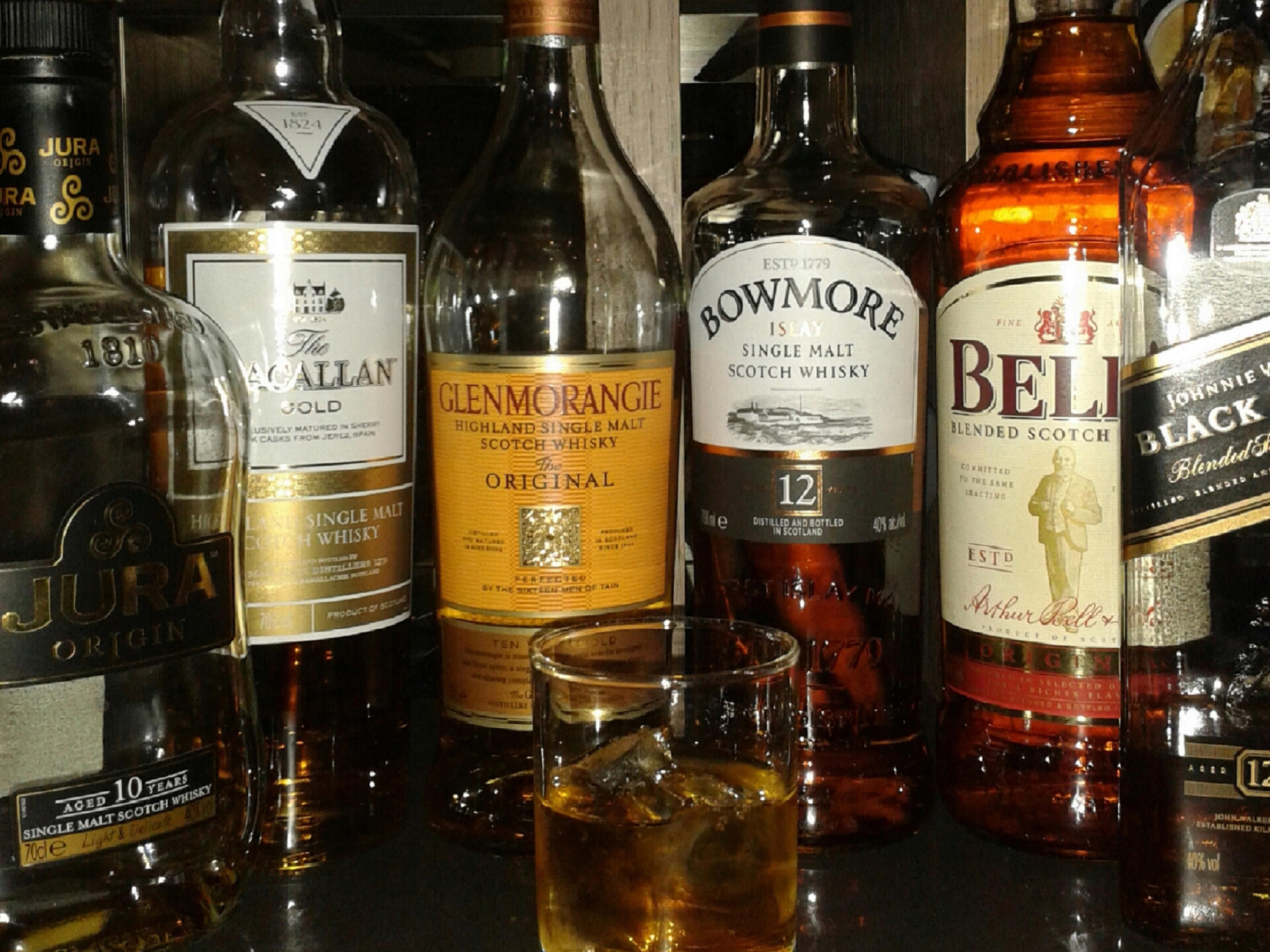 Enjoy our selection of local Whiskys