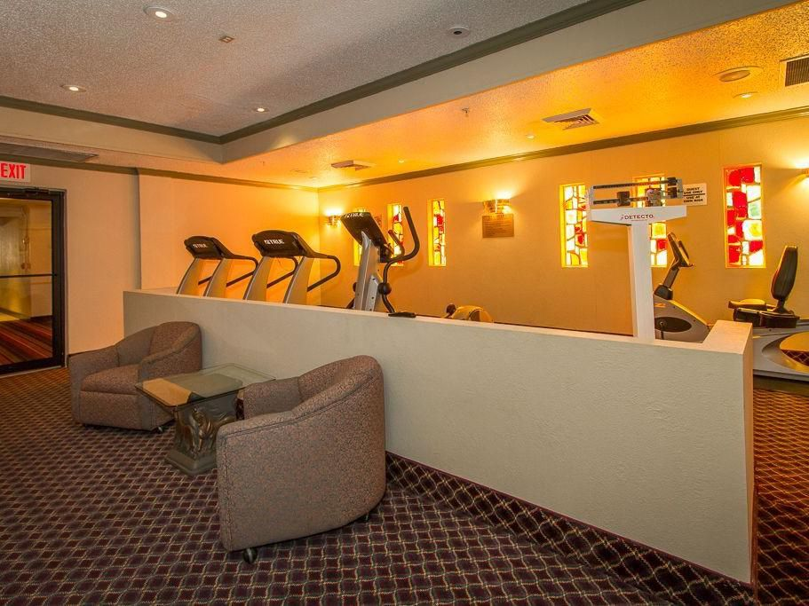 Stay fit and trim in our El Paso hotel fitness center.