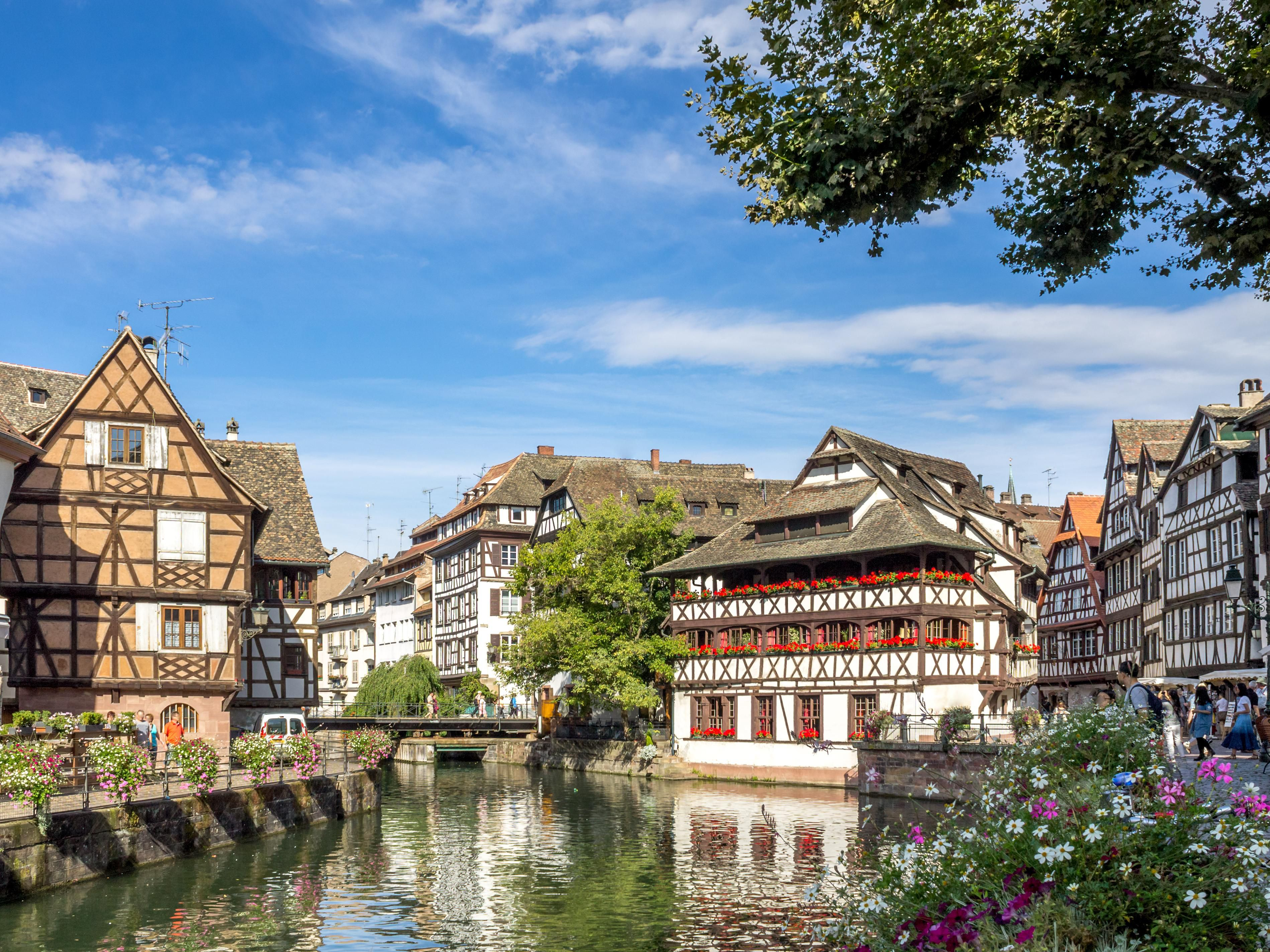 La petite France in the heart of Strasbourg