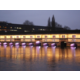 Covered Bridges by night in Strasbourg