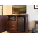 Microwave and Fridge In All Rooms