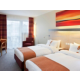 Twin Bedroom with our cozy pillow menue