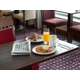 Enjoy the most important meal of the day in our comfy lounge