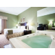 Jacuzzi Suite at the Holiday Inn Express Harrisonburg