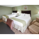 Two Queen Beds at the Holiday Inn Express Harrisonburg