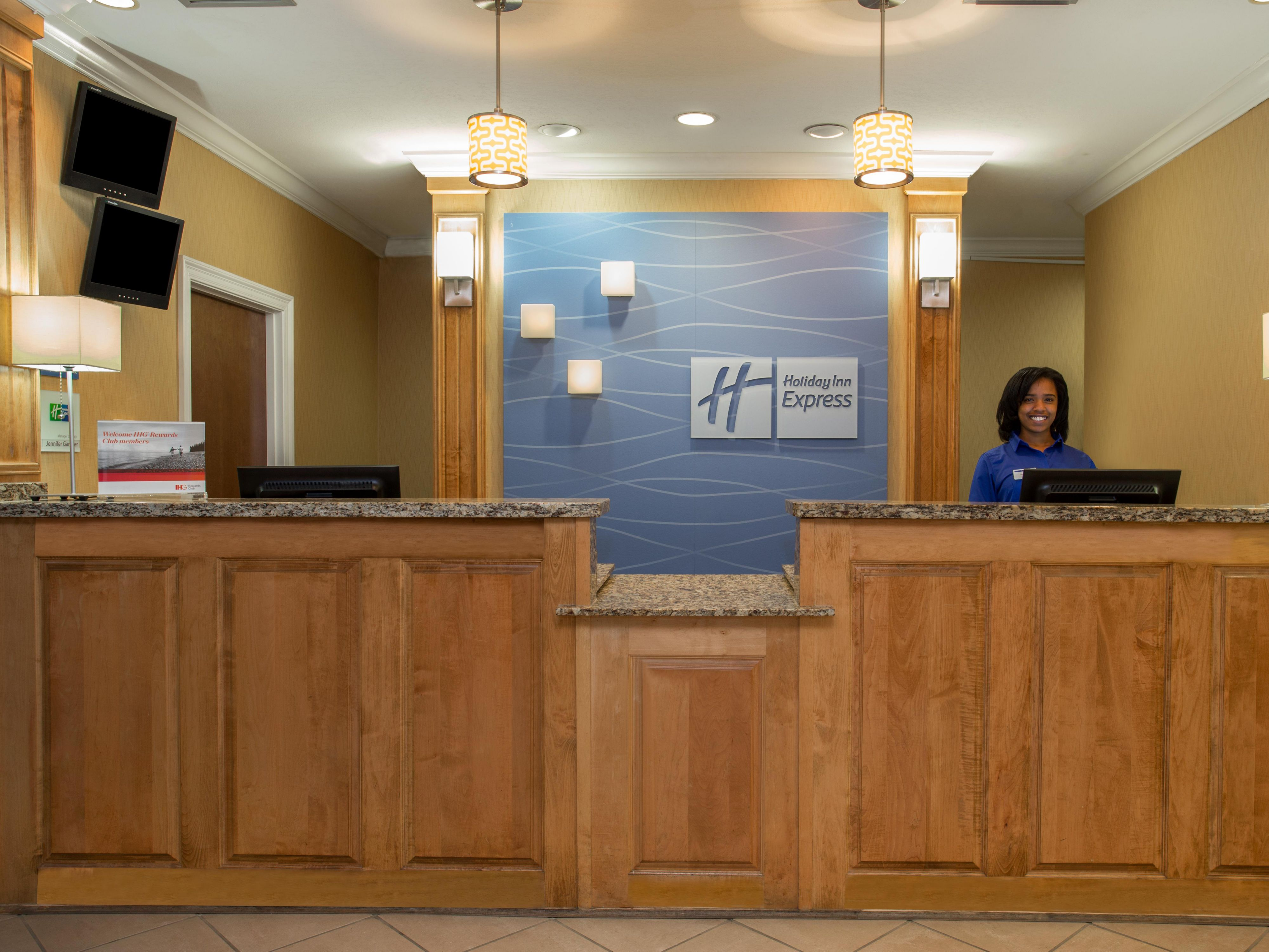 Our Front Desk staff is ready to assist you