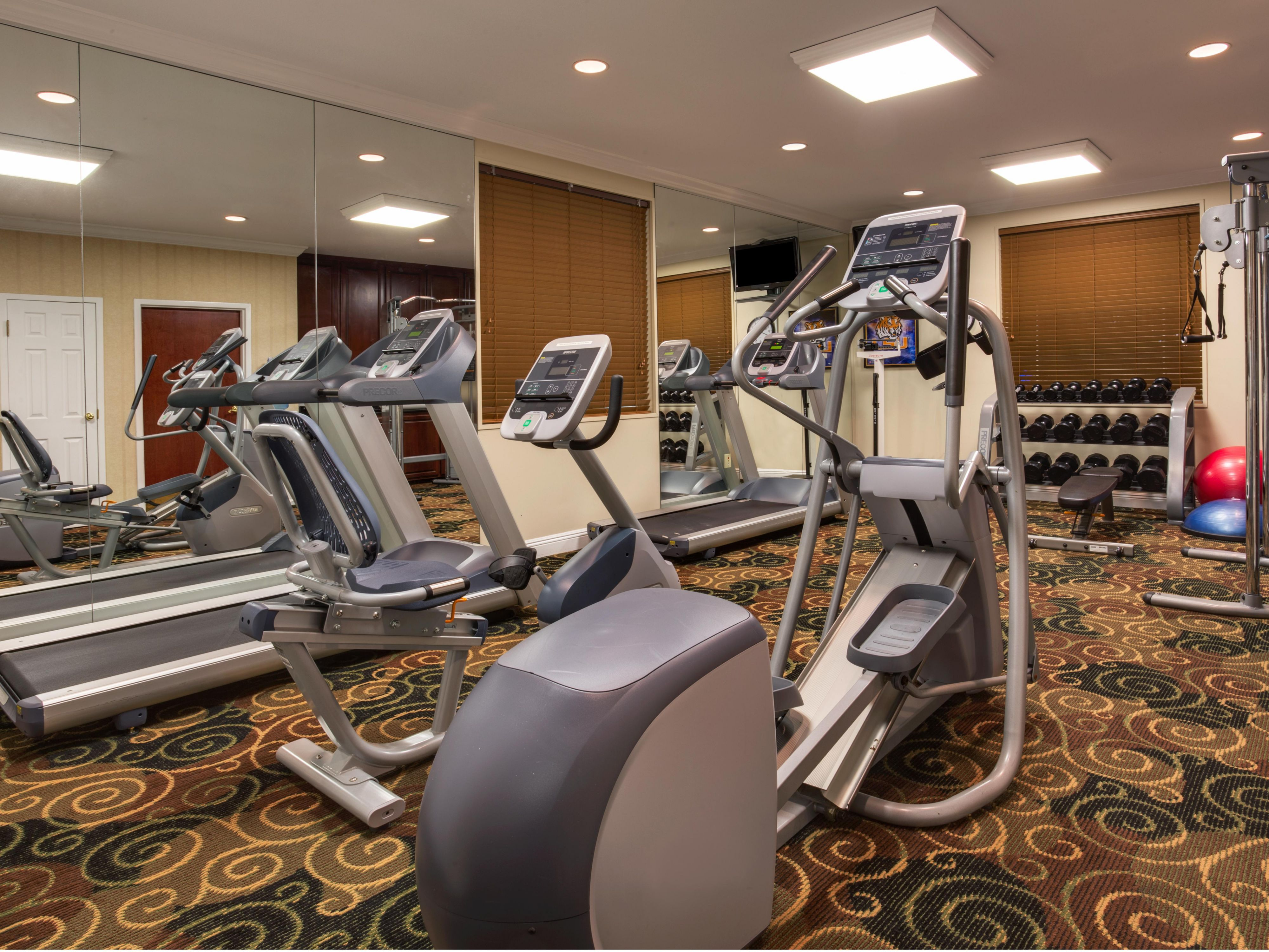Workout in our well-equipped Fitness Center