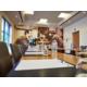 Salle de réunion avec lumière du jour