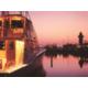 Harbour Town Marina at dusk