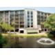 Hotel across the lagoon