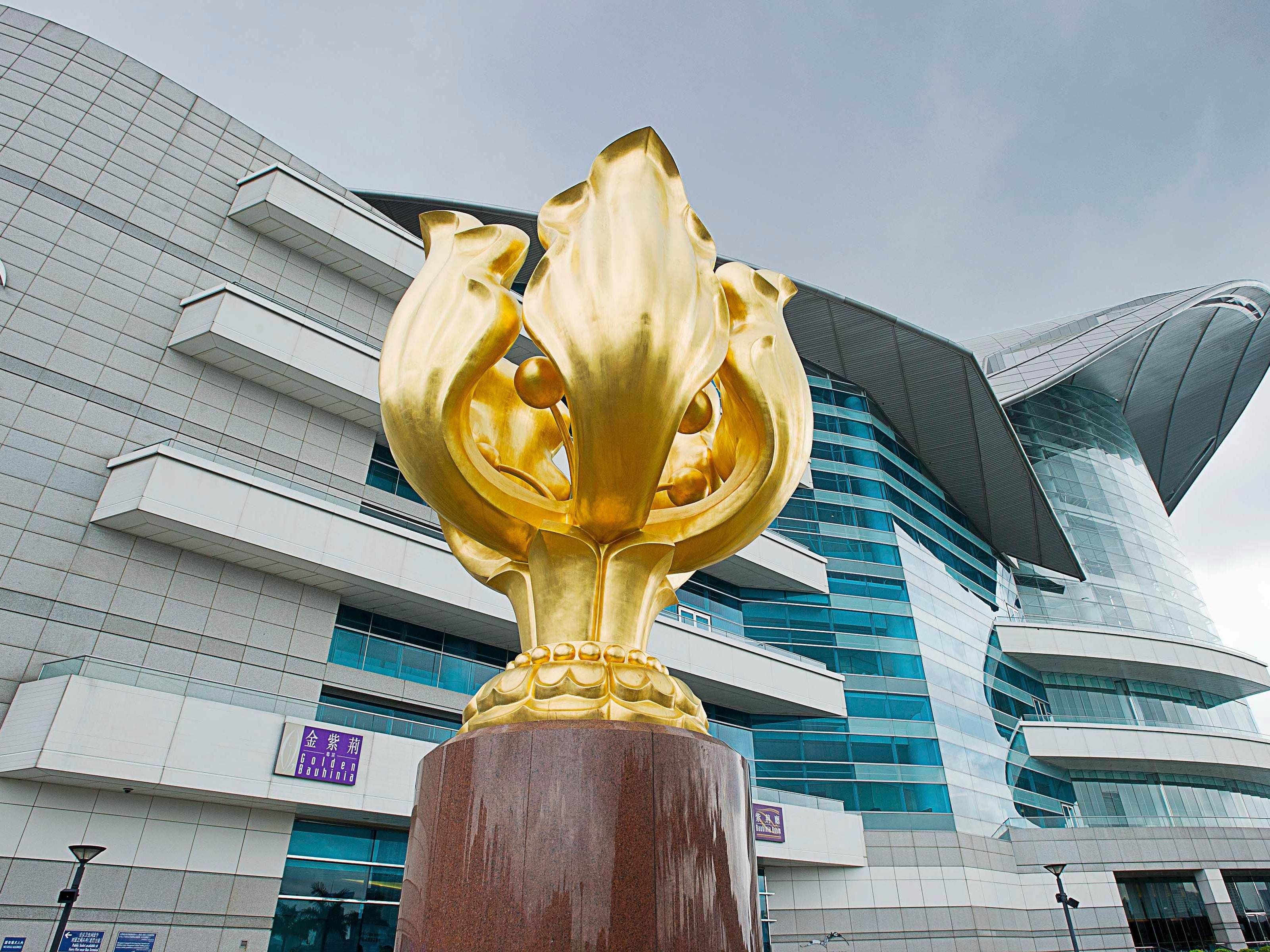 Golden Bauhinia Square