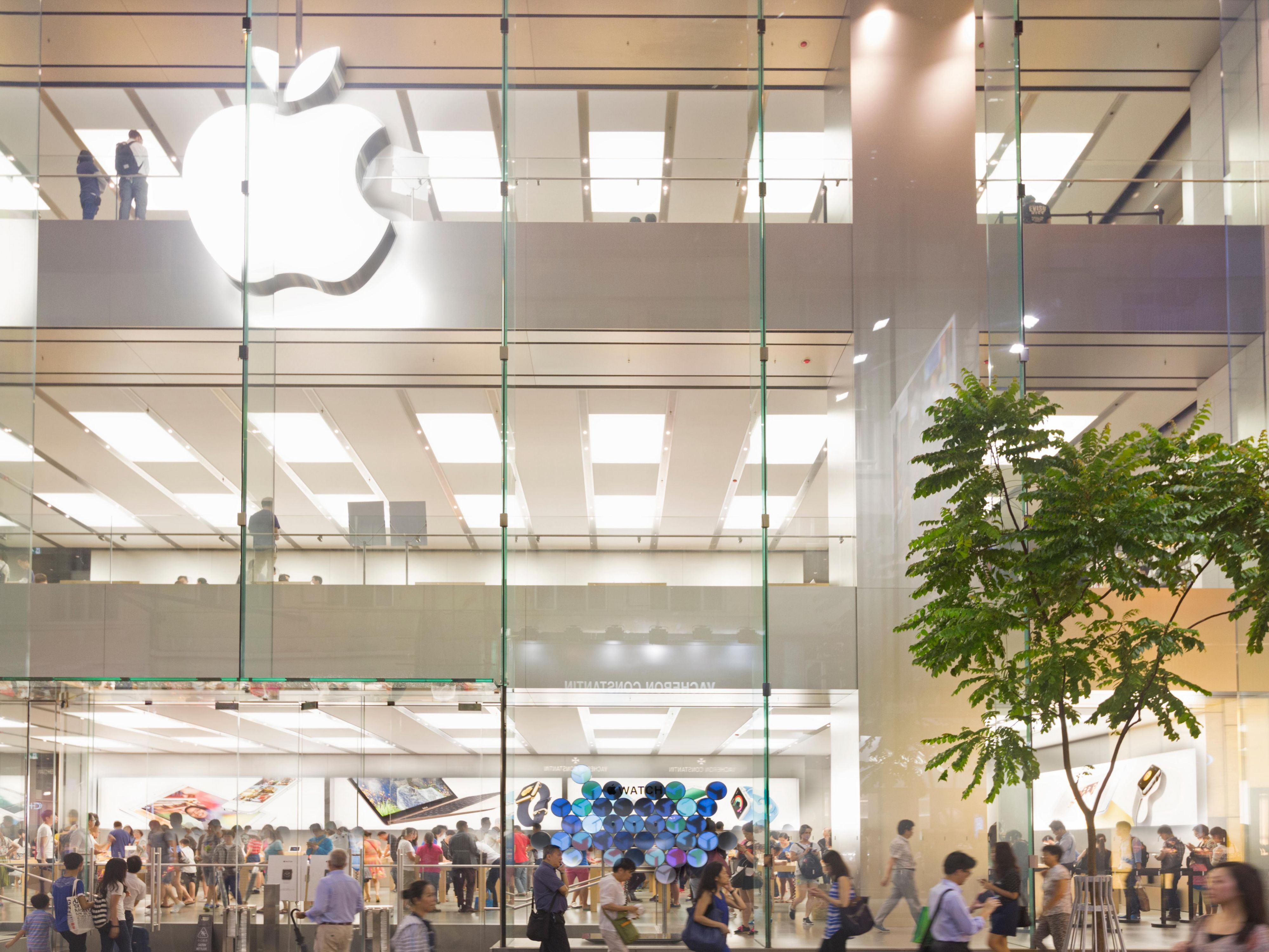 Hysan Place - Apple Shop Causeway Bay