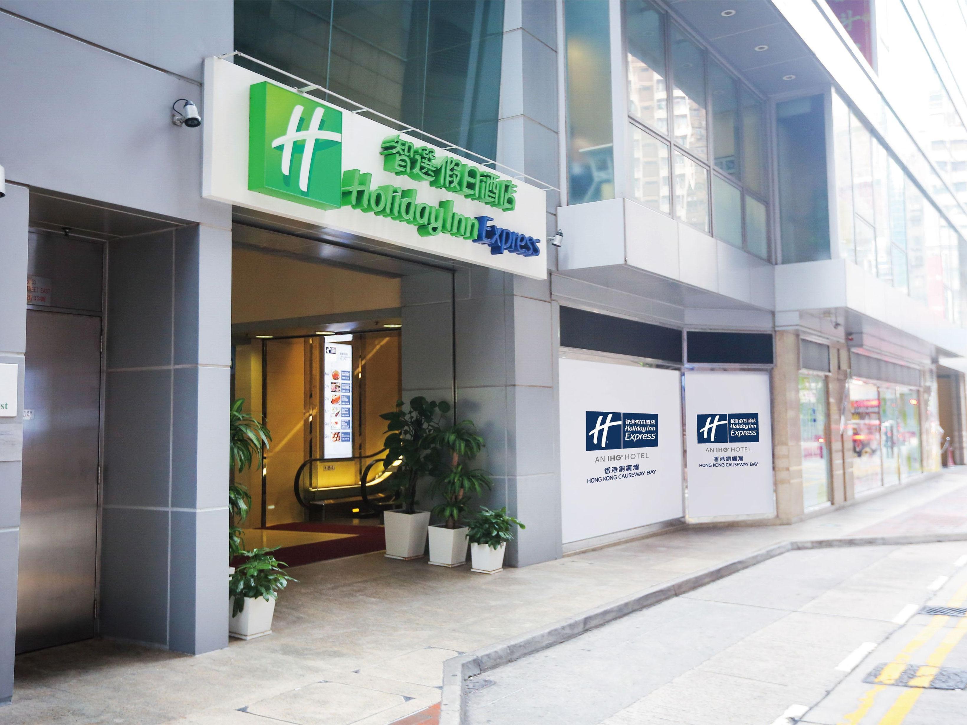 Causeway Bay Hotel Holiday Inn Express Hong Kong Causeway Bay