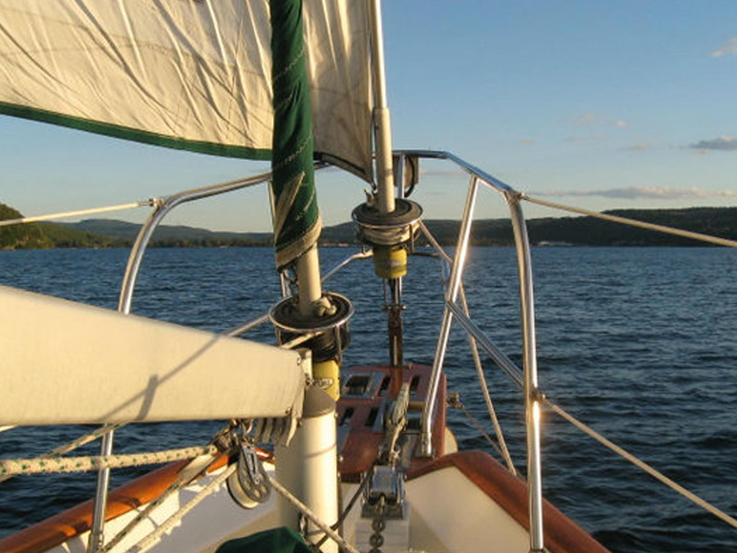 Sailing on Seneca Lake, Watkins Glen
