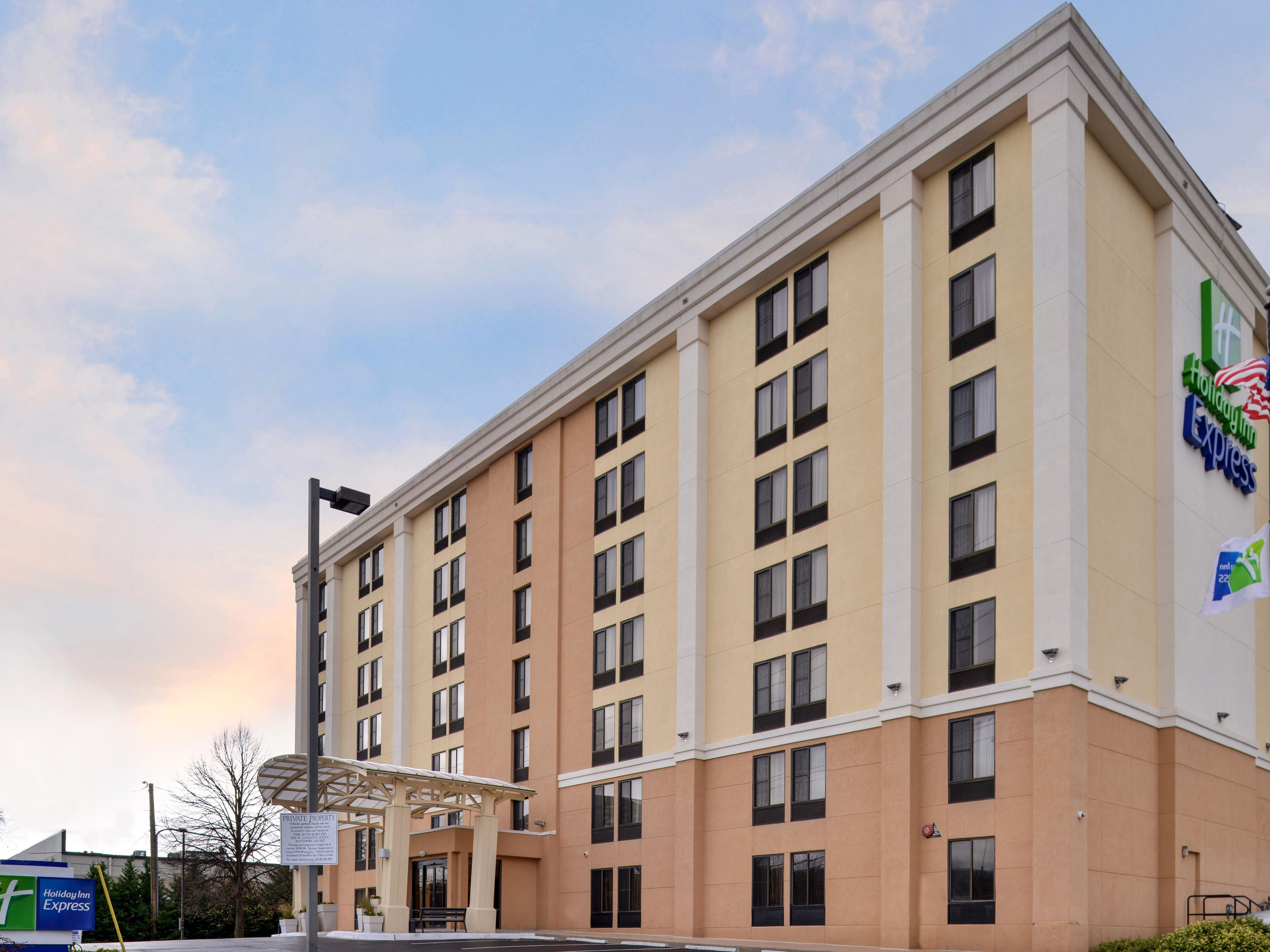 Holiday Inn Express Hunt Valley In Timonium Maryland