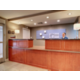 Hotel Lobby Front Desk with Staff