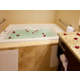 Hot tub feature with romance package