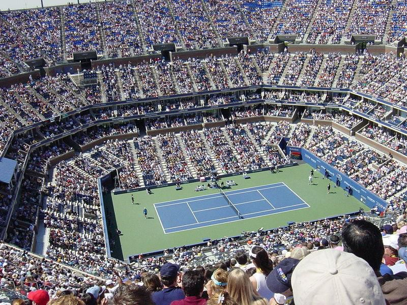 Arthur Ashe Stadium -US Open Tennis