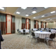Meeting Room with Round Table set up