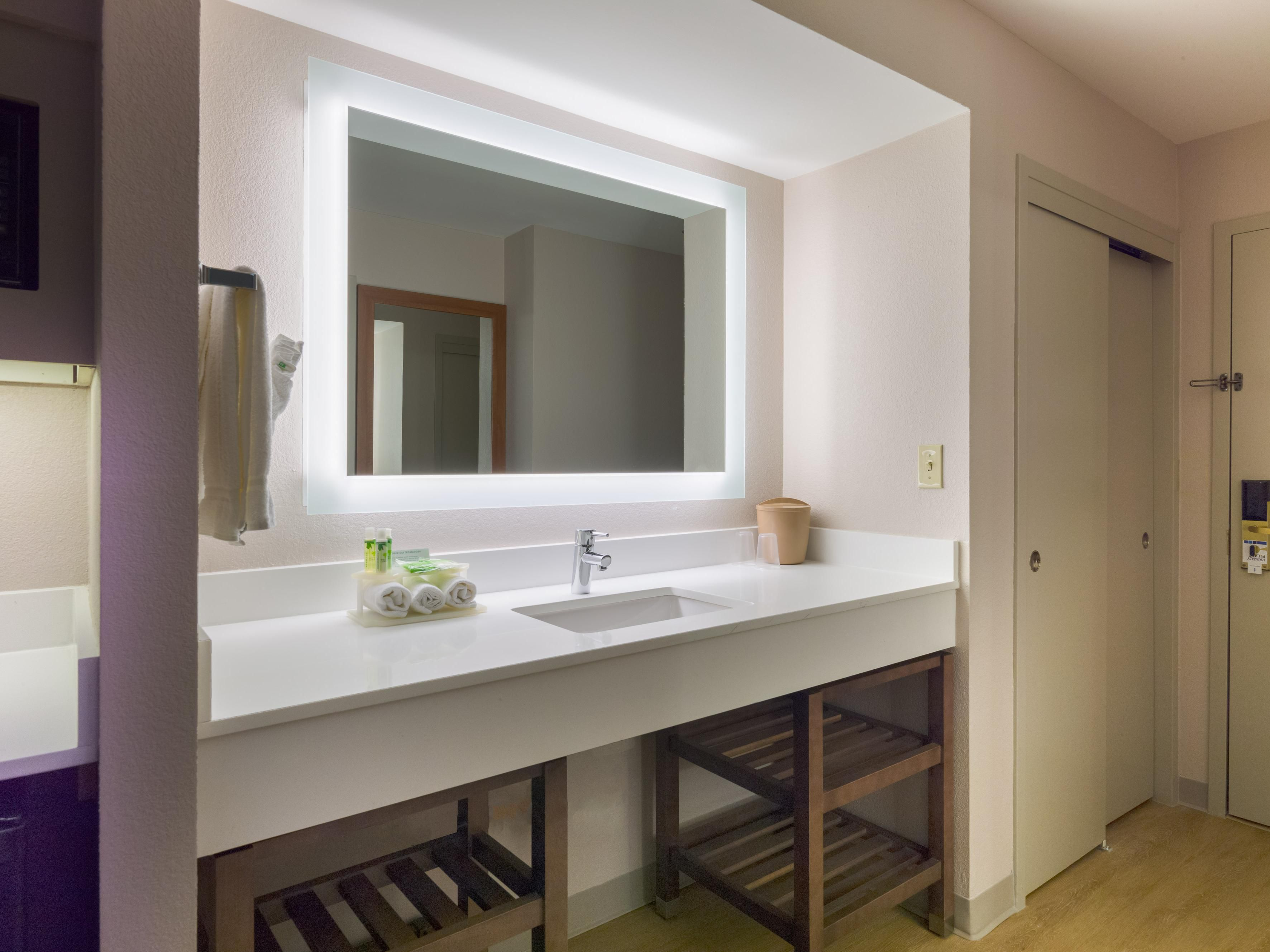 Guest Bathroom at Holiday Inn Express Langhorne