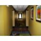 Well lit, attractive hallways
