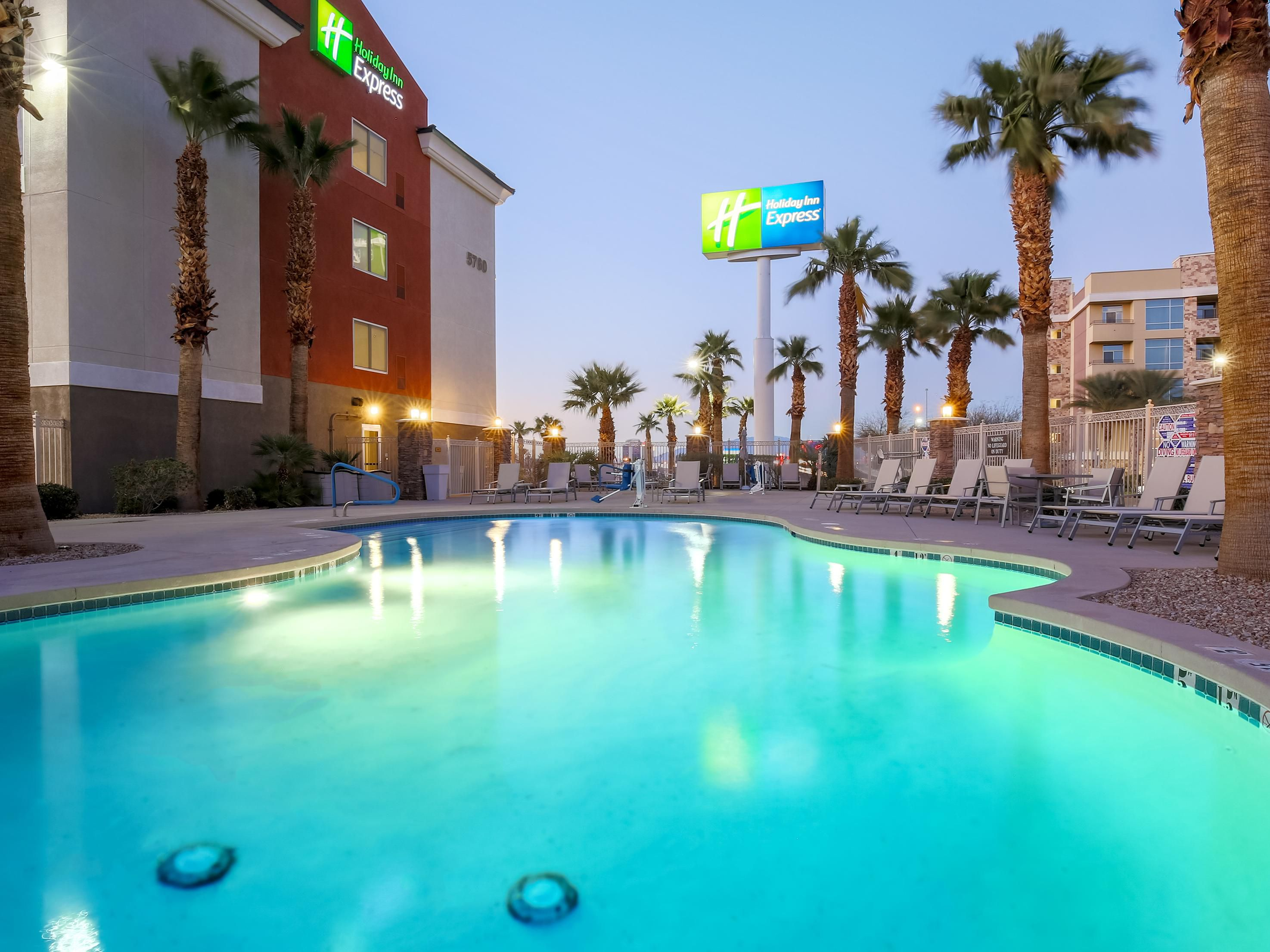 Holiday Inn Express Las Vegas South Outdoor Heated Pool