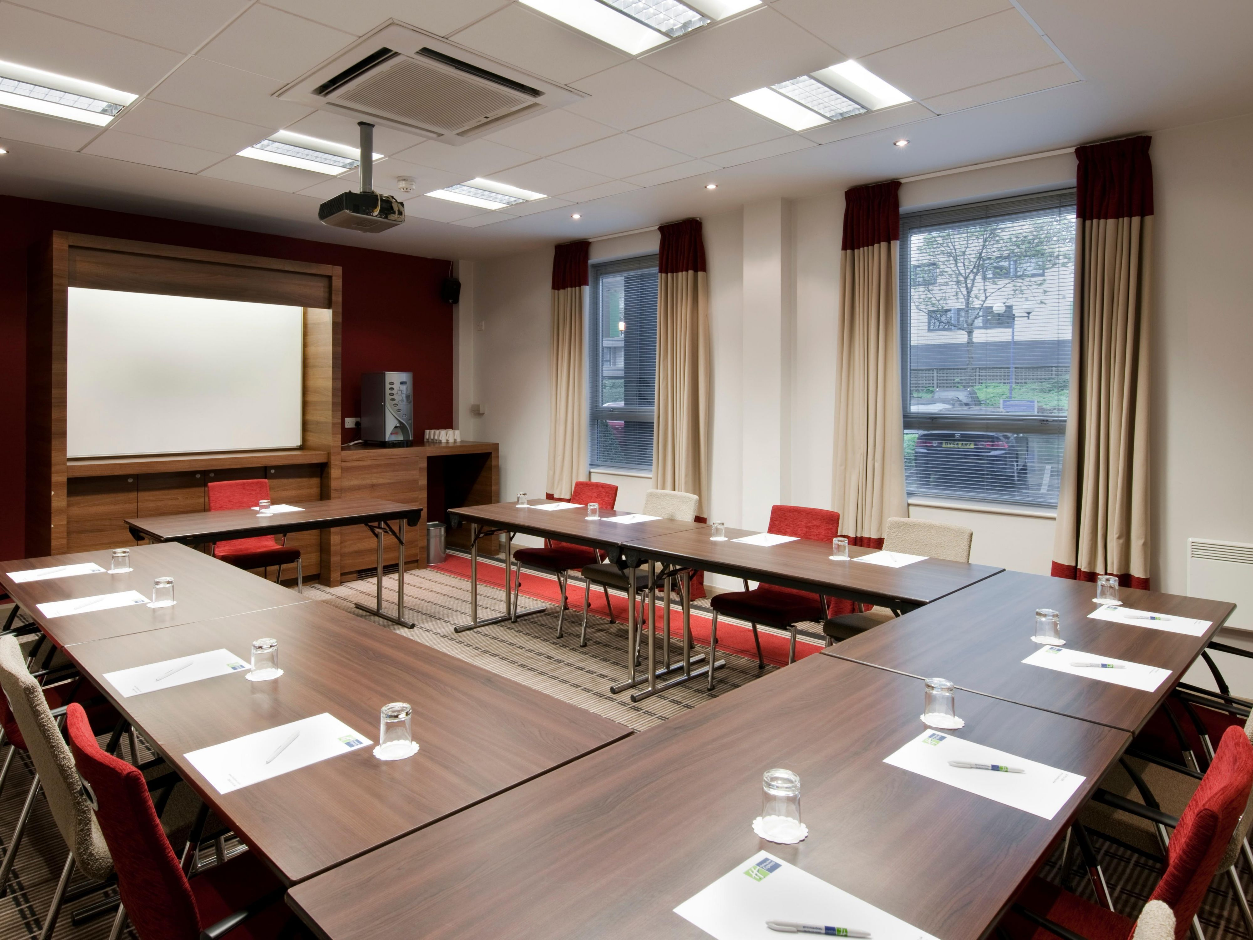 Modern meeting rooms at Holiday Inn Express Leeds City Centre